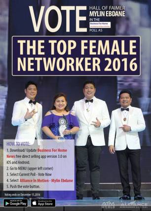 The Top Female Networker 2016